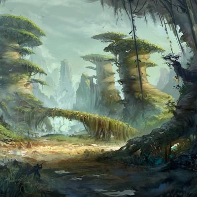 怪物獵人_森林氣氛